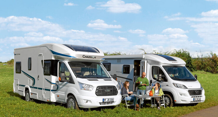 Reisemobile Chausson Flash / Dethleffs Advantage
