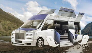 Rolls Royce als Camper - Designstudie