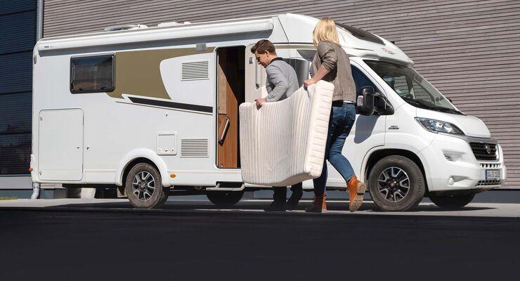 Die Richtige Matratze Für Wohnmobil Und Campingbus Promobil
