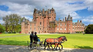 Schloss Glamis Castle in Schottland