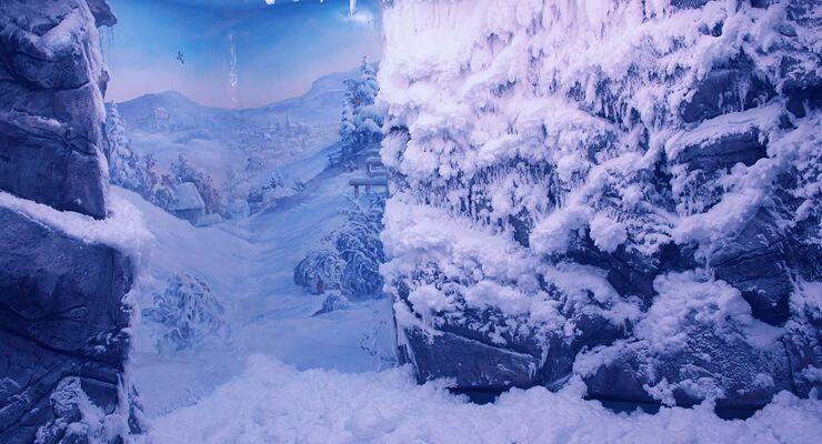 Schneesauna