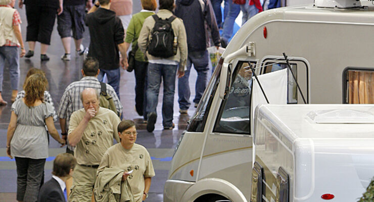Schwenningen Süddeutscher Caravan Salon Reisemobil