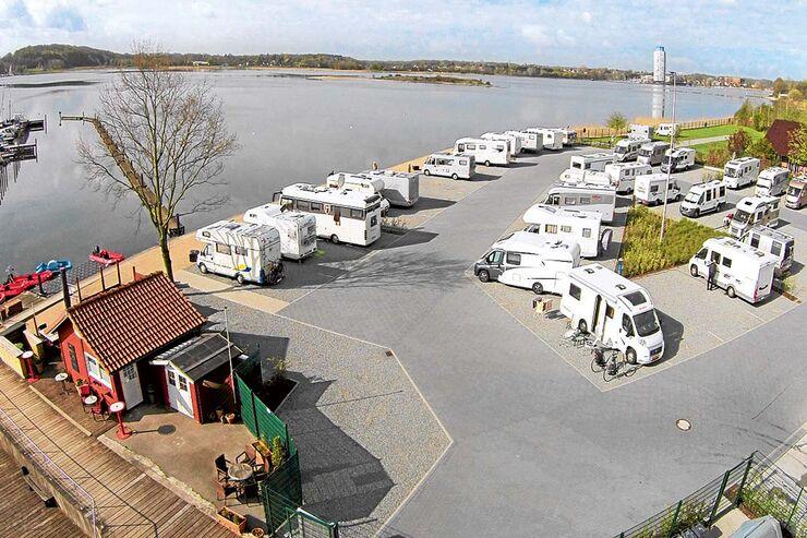 Stell- und Campingplatz finden