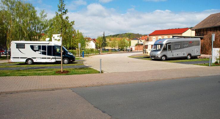 Stellplatz-Tipp: Bad Frankenhausen