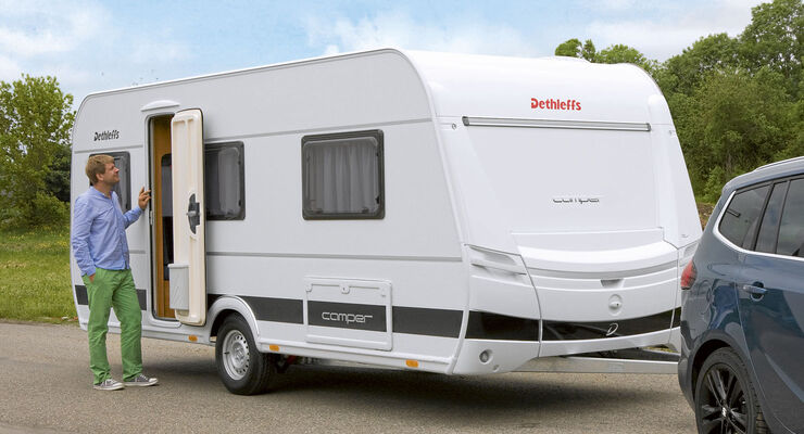 Supertest: Dethleffs Camper 530 FSK