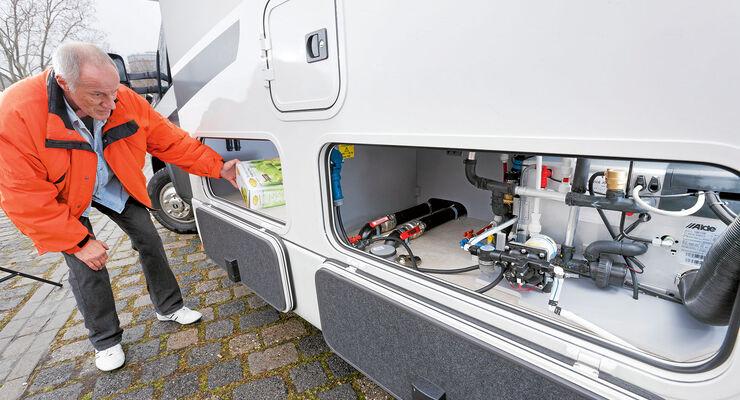 Technikwissen Doppelboden Reise