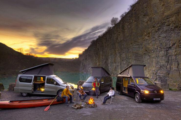 Test: Mercedes/VW/Westfalia
