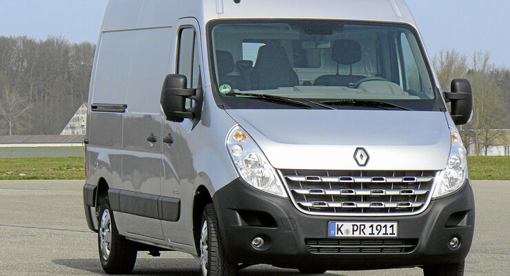 Test, Renault Master