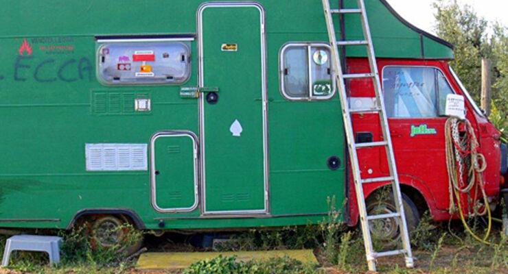 Toskana, Reisemobil, wohnmobil, caravan, wohnwagen