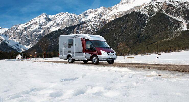 Truma Winterservice in der Schweiz