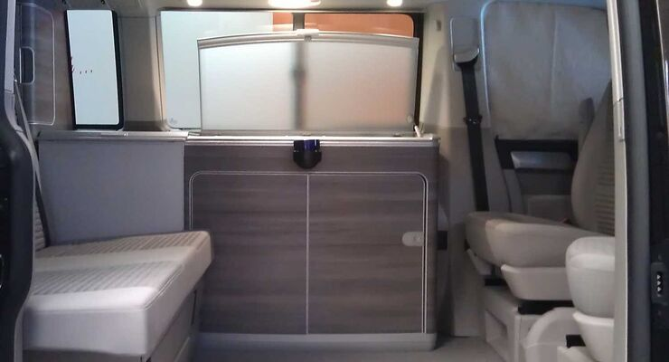 neuer california auf vw t6 erster blick in den camper. Black Bedroom Furniture Sets. Home Design Ideas
