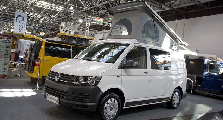 VW T6 California auf dem Caravan Salon 2015