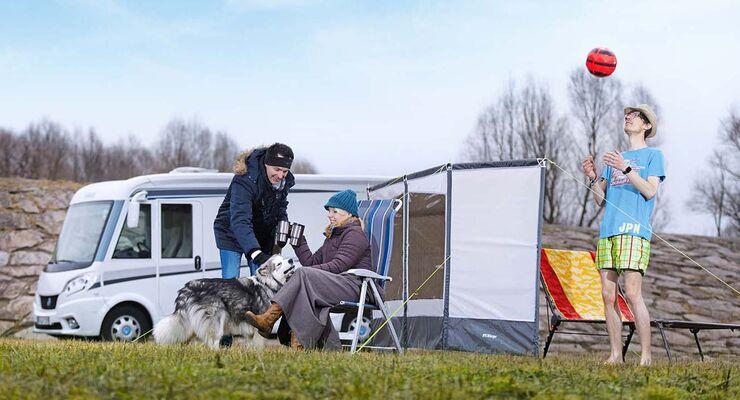 test wind und sichtschutz f rs wohnmobil promobil. Black Bedroom Furniture Sets. Home Design Ideas