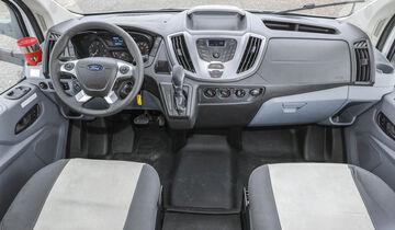 Vergleichstest Ford Transit