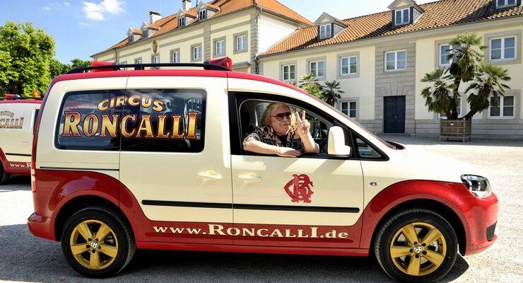 Volkswagen Nutzfahrzeuge: Caddy für den Circus Roncalli
