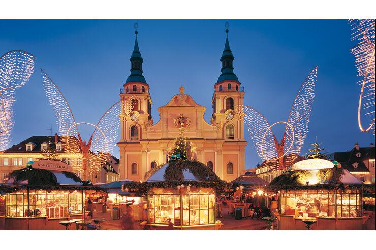 Weihnachtsmärkte mitWohnmobil-Stellplätzen: Ausflug in derAdventszeit