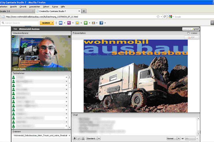 Wohnmobil Selbstausbau Webinar