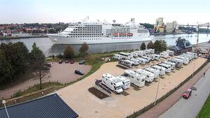 Wohnmobilhafen am Kanal-Cafe NOK