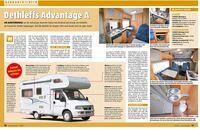 dethleffs advantage a alkovenmobil im gebrauchtcheck. Black Bedroom Furniture Sets. Home Design Ideas